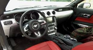 mustang gt 2015 interior review 2015 ford mustang gt premium the mustang source