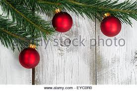 background with rustic ornaments and fir tree