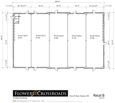 Retail Floor Plans by Commercial Properties