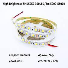 high quality led lights high quality led strip natural white 5000k 5500k high brightness