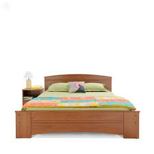 zuari optima king bed natural teak finish u2013 mavifurniture