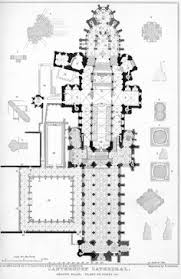 canterbury cathedral floor plan plan canterbury cathedral begun c 1100 architecture cathedral