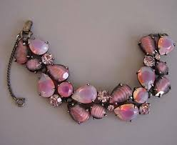 rose rhinestone bracelet images Morning glory antiques jewelry jpg