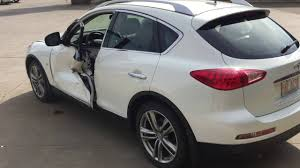 infiniti fx35 suv before u0026 after auto body repair in sherwood