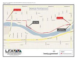 Riverwalk Map 2011 February Bike Michiana