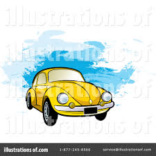 Vw Bug Clipart 1393051 Illustration By Lal Perera