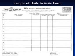 daily activity report template daily activity report format in excel essential snapshot template