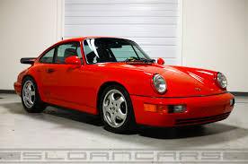 porsche 964 ducktail 1993 porsche 964 rs america coupe 18 579 miles sloan cars