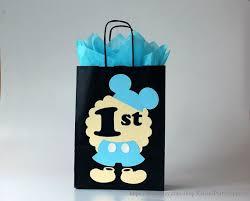 mickey mouse gift bags baby mickey mouse favor bags for baby boy birthday