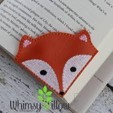 stin with lesezeichen mit den bookmark pink owl with white corner pink felt bookmark