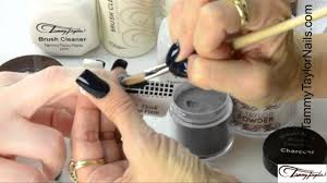 tammy taylor 5 most popular nail shapes with almost black