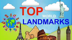 top 5 famous landmarks of the world for children educational