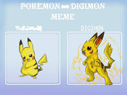Funny Pikachu Memes - funny nintendo memes on twitter if pikachu was in digimon
