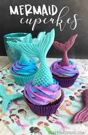 mermaid cupcakes how to make mermaid cupcakes crafty morning