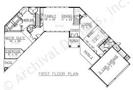 First Floor House Plan Villa Albrizzi House Plan Home Plans By Archival Designs