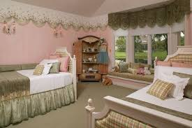 High Window Seat - traditional kids bedroom with high ceiling by innovative designs