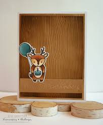 jess crafts embossed masculine deer card for lawnscaping