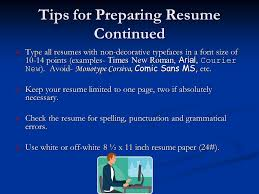 Punctuation In Resumes Resume And Cover Letter Workshop Purpose Of A Resume The