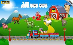 amazon com kids animal train preschool and kindegarten learning