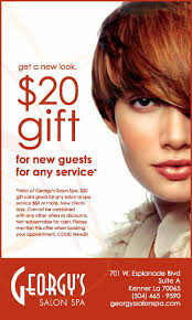 haircut u0026 style services georgy u0027s salon spa kenner louisiana