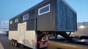 This Is A 28 Gooseneck Trailer Tiny House On Wheels Youtube Tiny House Plans For A Gooseneck Trailer