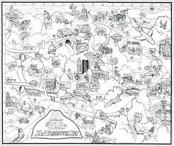 Ohio Map Of Cities by Cartoon City Maps Www Drawme Com