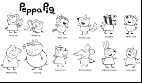 coloring pages peppa pig coloring pages for kids peppa pig