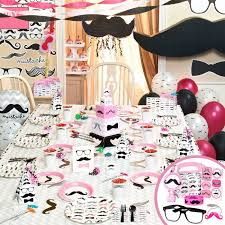 mustache party pink mustache party supplies review nanhy