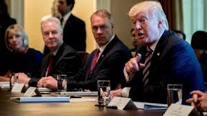 Cabinet President Ap Fact Check The Record Behind Trump U0027s Cabinet Meeting Statements