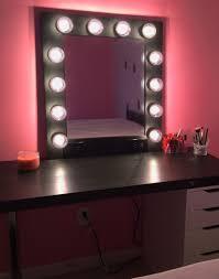makeup desk with mirror lights beautiful vanity sink ideasp13 49