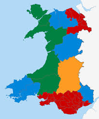 Realistic Map Of The World by File Welsh Assembly Election 2011 Map Svg Wikimedia Commons