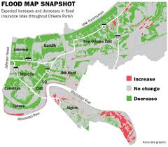 New Orleans Elevation Map by New Orleans U0027 Revised Flood Maps Set To Slash Insurance Rates For