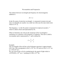worksheet 2 electromagnetic radiations answers