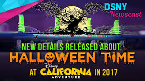disney california adventure to receive halloween overlay park wide