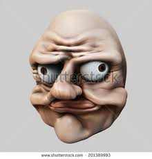 Internet Troll Meme - internet meme lol ugly troll head stock illustration 201389993