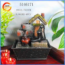 gifts item of water flow fountain home decor buy water flow