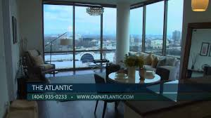 Luxury Homes For Sale In Buckhead Ga by Midtown Atlanta Condos For Sale At The Atlantic Penthouses Youtube
