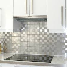 carrelage credence cuisine mosaic shower tile stainless steel splashback kitchen damier 48