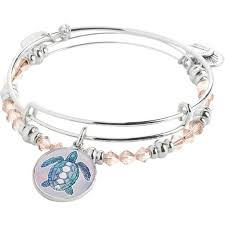 november birthstone alex and ani alex and ani art infusion turtle charm bangle set fashion