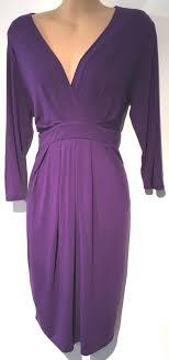 herring maternity herring maternity purple cross dress size 12
