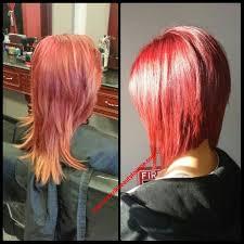 red brown long angled bobs long angled bob red red hair angled bob hair cut and color
