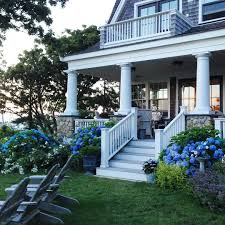 porch on beautiful house on cape cod old silver shed instagram