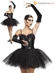 gothic halloween costumes ladies gothic ballerina black swan halloween costume horror movie