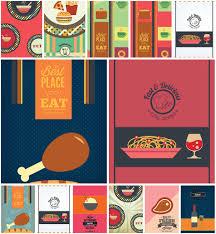 dining menu template dining menu template set vector free