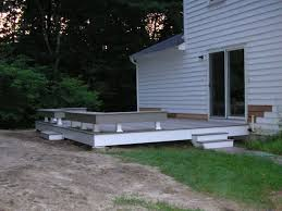 Decks With Benches Built In Johnson Construction Finished Basement Gallery