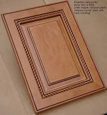 Decorative Molding For Cabinet Doors Woodmont Doors Rope Moulding Finished Wood Cabinet Doors Glazed