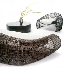 contemporary living room furniture design croissant series by