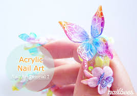 acrylic nail art nailbees