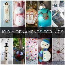 10 diy ornaments to make at home