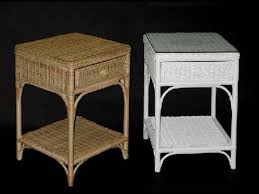 wicker end tables sale wicker end tables with drawers youtube within rattan end tables plan